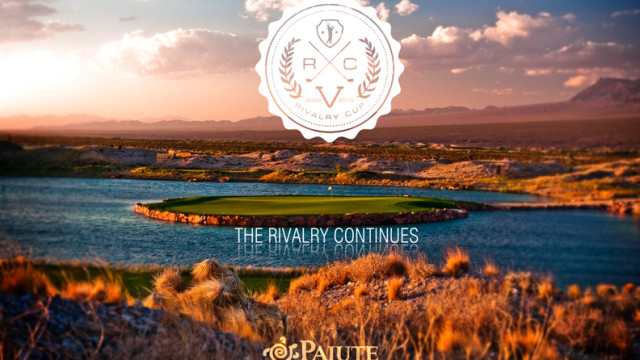 Paiute Golf Club - 17th hole at The Wolf